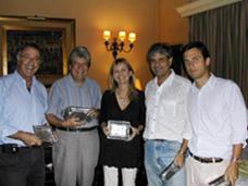 José Brecner, Andrés Preve, Jorge Rossolino, Lucila Rinaldi, Marzo 2007