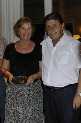 Adela Estrada y Carlos Zagarzazú