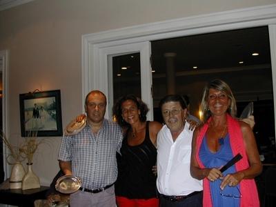 Bobby Martínez, Vivián Jacubovski, Carlos Zagarzazú y Andrea Bonomi
