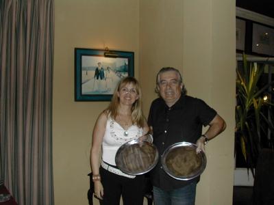 Lucila Rinaldi y Jorge Wolf