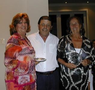 Cuca Sonnenschein, Carlos Zagarzazú y Elena Mª Graña