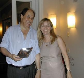 Danilo Doray y Lucila Rinaldi