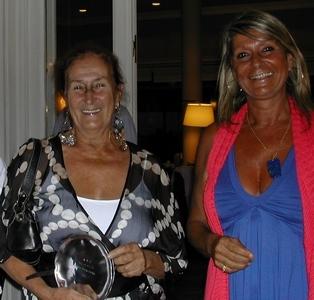 Elena Mª Graña y Andrea Bonomi