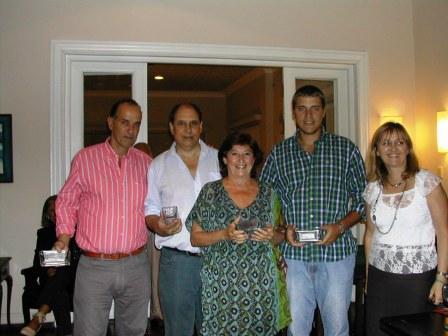 Equios Fuerza Limitada, Mauricio Machado, Guillermo Minutti, Danilo Doray y Helena Varela