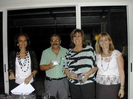 Equipos Damas, Cuca Sonnenschein, Elena Graña(au), Verónica Chediak(au) y Tita Meyer(au)