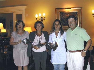 Renée Arocena, Silvia Llovet, Clarisa Andreu y Carlos Zagarzazú