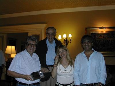 Andrés Preve, Ricardo Zumarán, Lucila Rinaldi y Jorge Rossolino