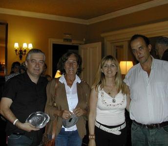 Jorge Wolf, Elena Graña, Lucila Rinaldi y Mauricio Machado
