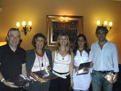 Jorge Wolf, Silvia Llovet, Lucila Rinaldi, Clarisa Andreu y Jorge Rossolino