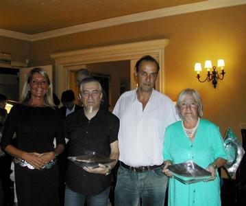 Andrea Bonomi, Jorge Wolf, Mauricio Machado y Ana Hill