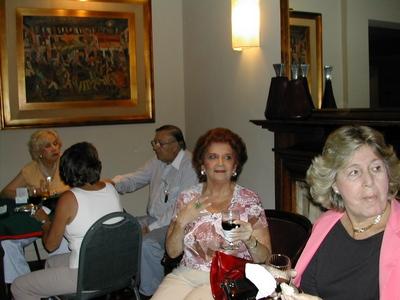 Jeannette Piaggio, Yaco Scavuzzo, Ana Lejzerson y Milita Blengio