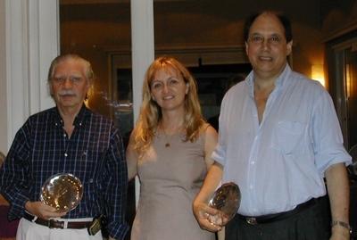 Jorge Sandler, Lucila Rinaldi y Danilo Doray