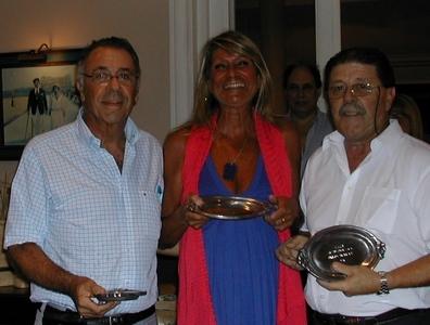 José Bechner Andrea Bonomi y Carlos Zagarzazú