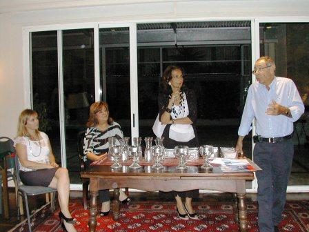 Lucila RInaldi, Cuca Sonnenschein, Marta Raffo y José Brechner