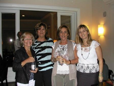 Parejas Damas, Lilián Mazzal y Zully Sapiro, Con Cuca Sonnenschein y Lucila Rinaldi