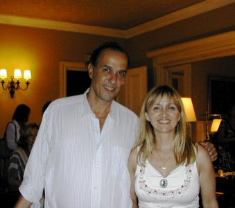 Mauricio Machado y Lucila Rinaldi