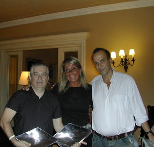 Jorge Wolf, Andrea Bonomi y Mauricio Machado