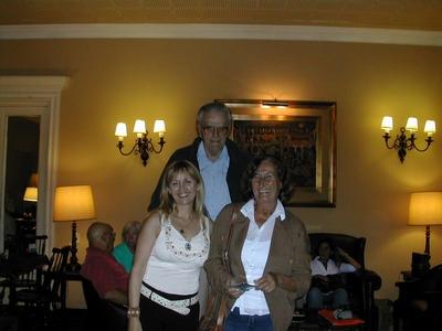 Lucila Rinaldi, Ricardo Zumarán y Elena Ma. Graña