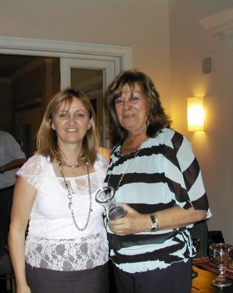Parejas Seleccionadas Cuca Sonnenschein y Elena Graña (au), con Lucila Rinaldi