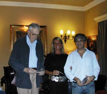 Ricardo Zumarán, Andrea Bonomi y Jorge Rossolino