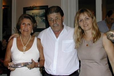 Silvia Llovet, Carlos Zagarzazú y Lucila Rinaldi