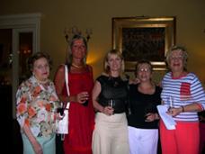Torneo Clausura 2006: Rosa Rinaldi, Andrea Bonomi, Lucila Rinaldi, Marta Goldberg y Berta Goldberg.