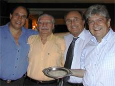 Danilo Doray, Jorge Sandler; Juan Carlos Raffo. Equipos Libres 2006