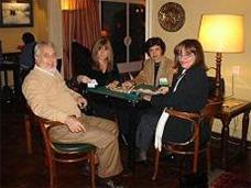 Jorge y Graciela Giucci, Patricia Correa, Margarita Echenique. 2005