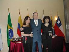 Margarita Echenique y Marta Lejbuciewicz. Ganadoras Butler damas, Sudamericano 2008