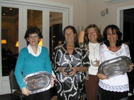 Marta Lejbusiewicz, Elena Ma. Graña, Alicia Sonnenschein y Marta Raffo, por CNED
