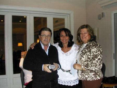 Carlos Zagarzazú (EC, EL e Individual) con Marta Raffo y Alicia Sonnenschein