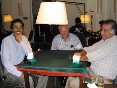 Franklin Secco, Eli Benyes y Pablo Gallicchio