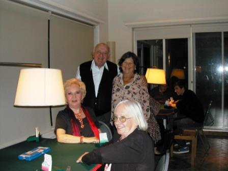 Jeannette Piaggio, Leo Dunski, Carola Carve y Ana Hill