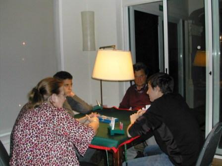 Lilian Zanini, Ignacio Miguelez, Leonardo Vieira y Hugo Carve