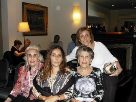 Loly Piñeirúa,Clarisa Andreu, Sylvia Llovet y Zully Sapiro
