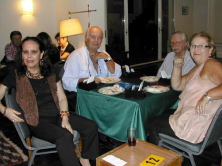 Serrana Sandler, Victor Tenzer, Jorge Sandler y Raquel Tenzer