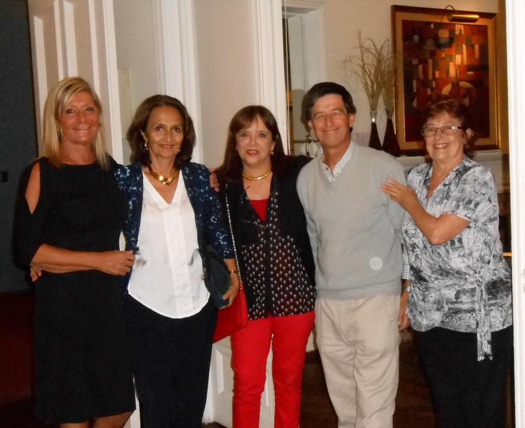 Andrea Bonomi, Marta Raffo, Margarita Echenique, Pablo Carve & Helena Varela