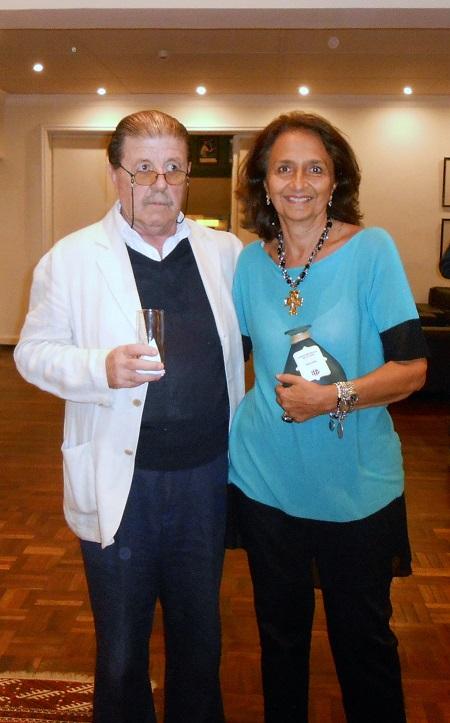 Carlos Zagarzazú y Marta Raffo