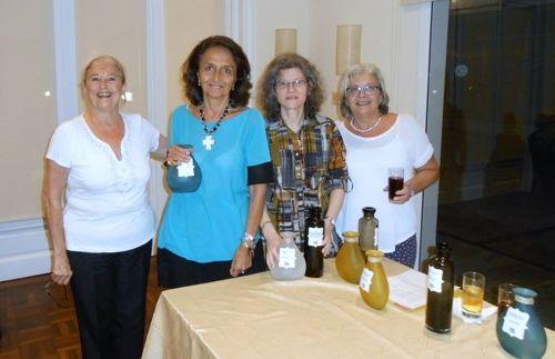 Helena Varela, Marta Raffo, Marta Lejbusiewicz y Adriana Catelli