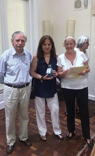 Jorge Sandler, Margarita Echenique y Helena Varela